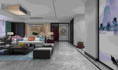 2020新中式300平米以上装修效果图片 2020新中式别墅装饰设计