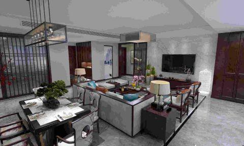 海爾云世界170平 新中式風格 設計