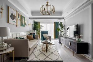 完美客厅美式室内装修设计