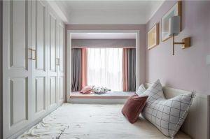 2020美式卧室装修设计图片 2020美式衣柜装修效果图片