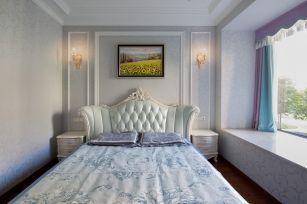 现代米色背景墙装潢设计图片