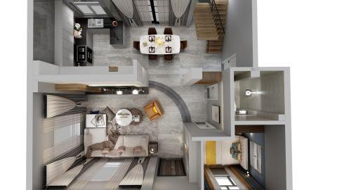 精美绝伦厨房现代装修图片