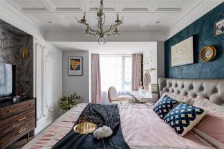 124平米輕奢法式3室2廳,輕盈唯美演繹優雅風尚