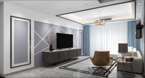 温暖客厅现代简约装修美图