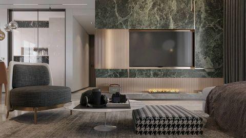 2019后现代110平米装修设计 2019后现代套房设计图片
