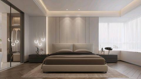 精品棕色卧室装饰实景图片