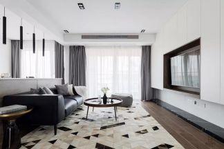 清新素丽客厅装修案例