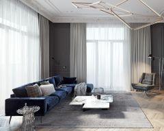 2020現代簡約150平米效果圖 2020現代簡約四居室裝修圖