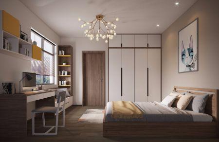 质朴白色床室内装修图片