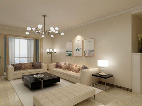 客厅吊顶欧式室内效果图
