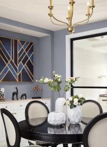 清爽白色厨房设计图片