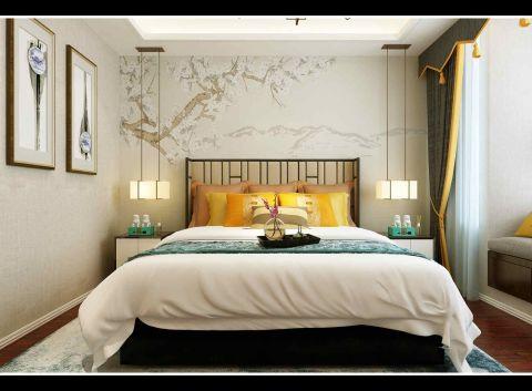 纯净白色卧室装修图片