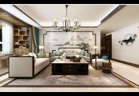 客厅白色沙发装修图片