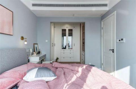 客厅淡蓝色背景墙案例图片