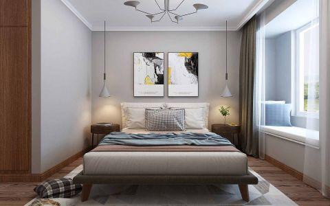 摩登卧室北欧室内装修图片