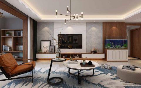 高贵风雅北欧白色沙发装修方案