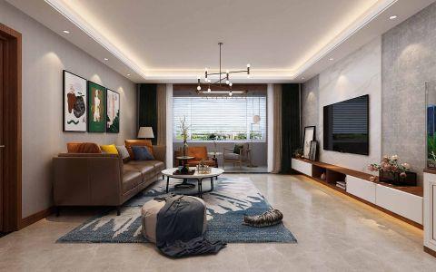 北欧客厅沙发装饰效果图