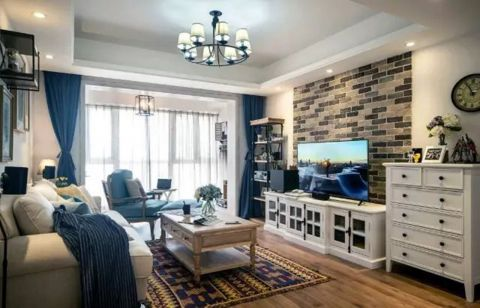 2021法式客厅装修设计 2021法式背景墙图片