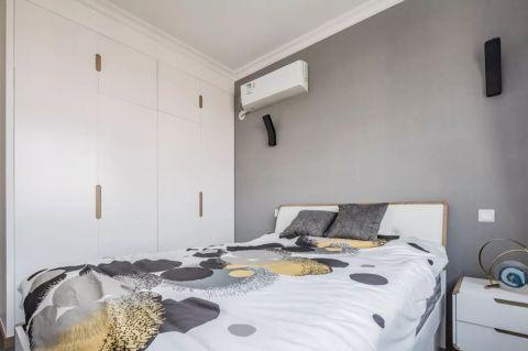 清爽卧室背景墙设计