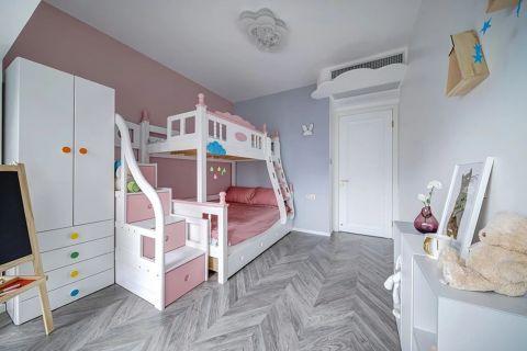 2019美式儿童房装饰设计 2019美式背景墙装修图
