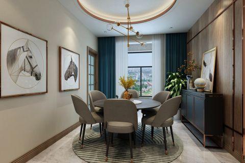 美轮美奂客厅背景墙装饰效果图