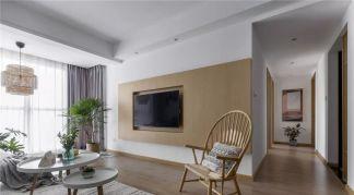 个性白色客厅家装设计图