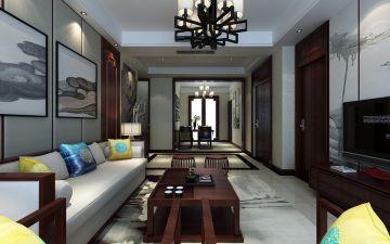 2021新中式客厅装修设计 2021新中式灯具图片