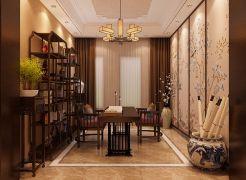 2019中式书房装修设计 2019中式细节装饰设计
