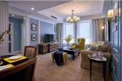 质感米色客厅设计图欣赏