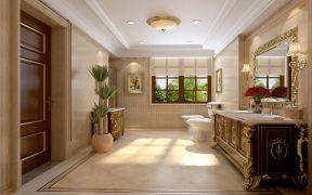 2019欧式浴室设计图片 2019欧式洗漱台装修设计