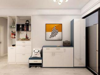 干净卧室照片墙装饰设计图片