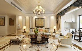 朴素温馨客厅欧式室内装修设计