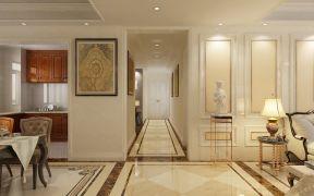 2019美式150平米效果图 2019美式四居室装修图