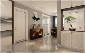 2021现代简约玄关图片 2021现代简约门厅装修效果图大全