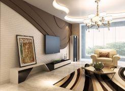 2020田园150平米效果图 2020田园四居室装修图