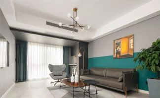 129平現代簡約風格3居室
