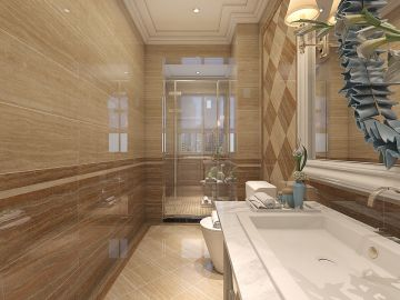 2020中式110平米装修设计 2020中式三居室装修设计图片
