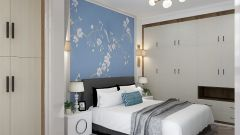 精品白色床设计方案