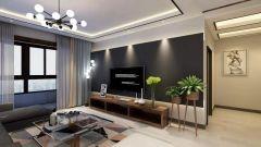 唯美客厅现代简约装修案例