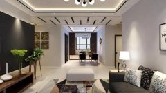 客厅白色沙发设计图片