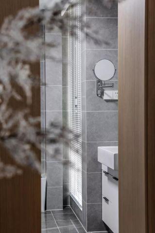 衛生間浴室柜現代案例圖片