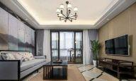 2021新中式110平米装修设计 2021新中式套房设计图片