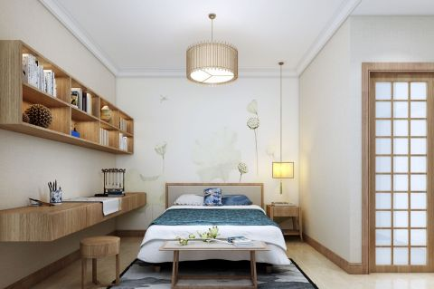 2020日式110平米裝修設計 2020日式二居室裝修設計