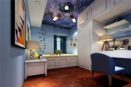 2020中式90平米裝飾設計 2020中式套房設計圖片