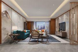 2020新中式240平米裝修圖片 2020新中式套房設計圖片
