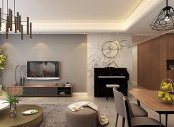 2020现代150平米效果图 2020现代四居室装修图