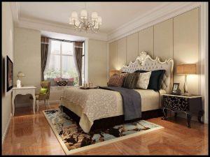 华丽卧室美式装饰设计图片