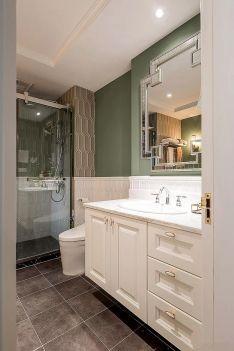 2020美式卫生间装修图片 2020美式洗漱台装饰设计