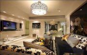 迷人米色客厅装潢设计图片