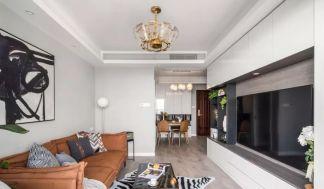 2020简欧90平米装饰设计 2020简欧三居室装修设计图片